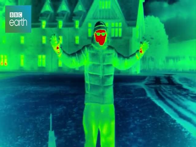 Потеря тепла человеческим телом на морозе