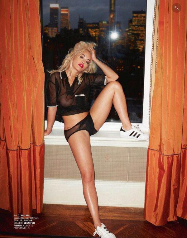 Рита Ора снялась в эротической фотосессии для журнала Lui. НЮ (11 фото)