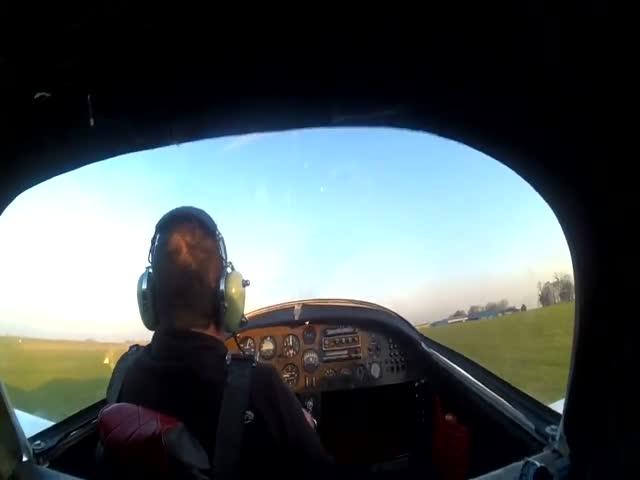 Крушение легкомоторного самолета