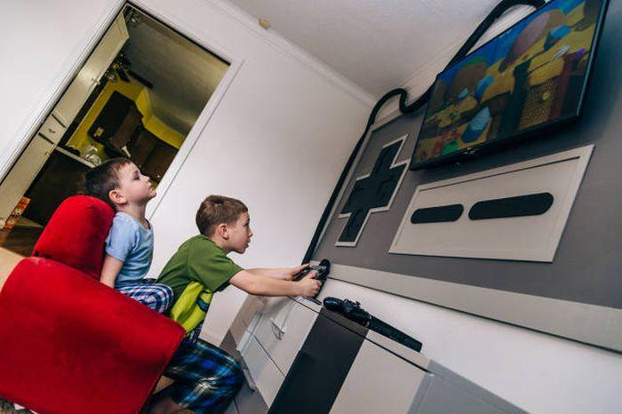Игровая комната для детей от любящих родители (19 фото)