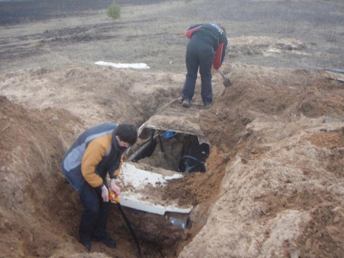Похороненная «Ока» из Тверской области (9 фото)