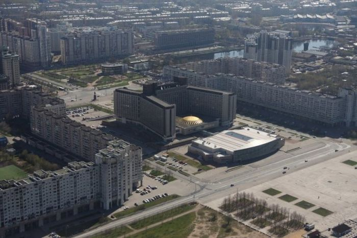 Меняющийся облик Санкт-Петербурга (9 фото)