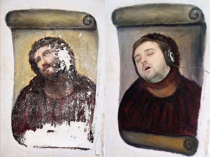 Уснувший на работе парень стал звездой интернета и героем фотожаб (37 фото)