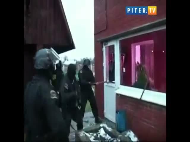 Задержание наркоторговца под Санкт-Петербургом