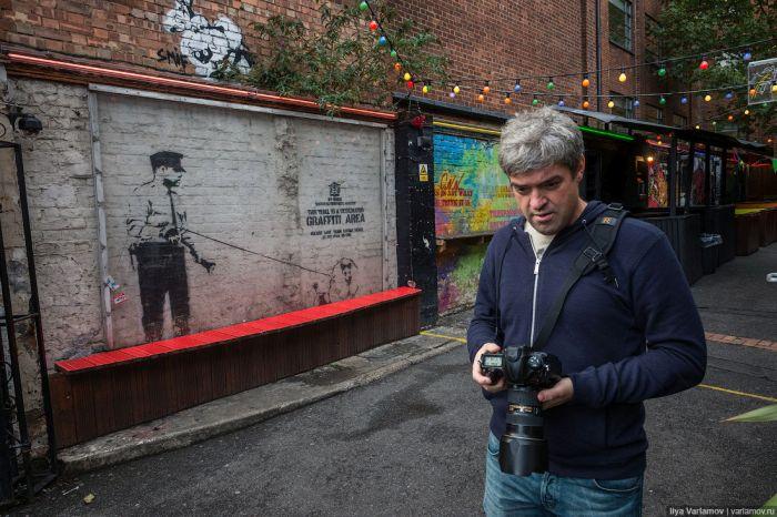 Ограниченная жизнь предметов уличного искусства (14 фото)