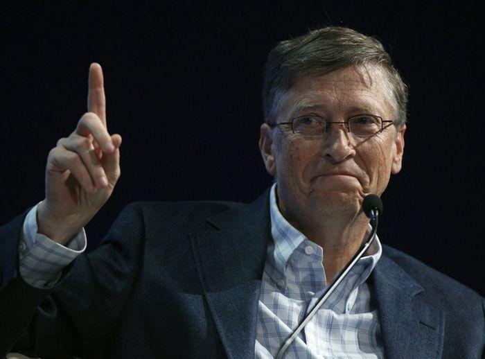 Любопытные факты из биографии Билла Гейтса (17 фото)