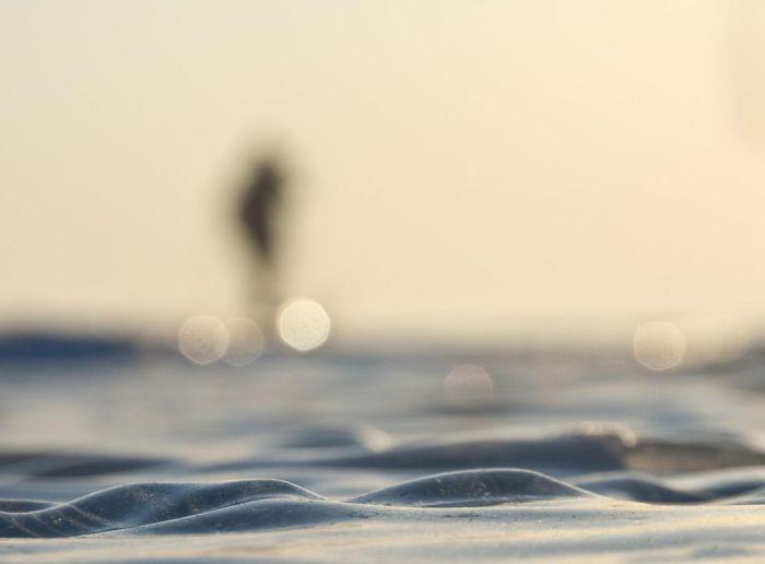 Волшебный байкальский лед (3 фото)