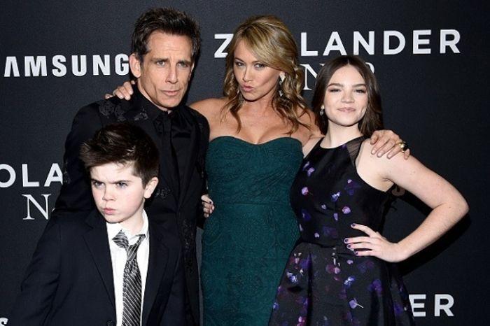 Сын Бена Стиллера Квинлин стал новым открытием на премьере фильма «Образцовый самец 2» (5 фото)