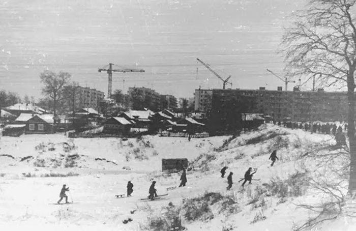 Деревенская Москва 50-х - 60-х годов XX века (36 фото)