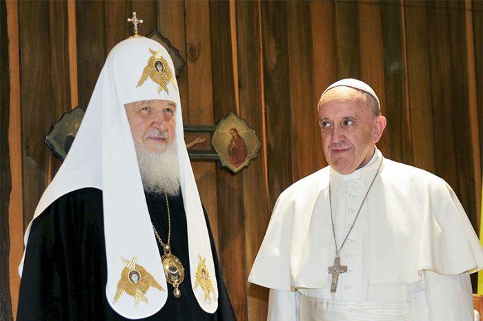 На Кубе прошла встреча глав РПЦ и Римско-Католической церкви (10 фото)