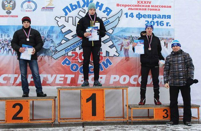 В Петрозаводске победителей гонки «Лыжня России - 2016» наградили попкорном (2 фото)