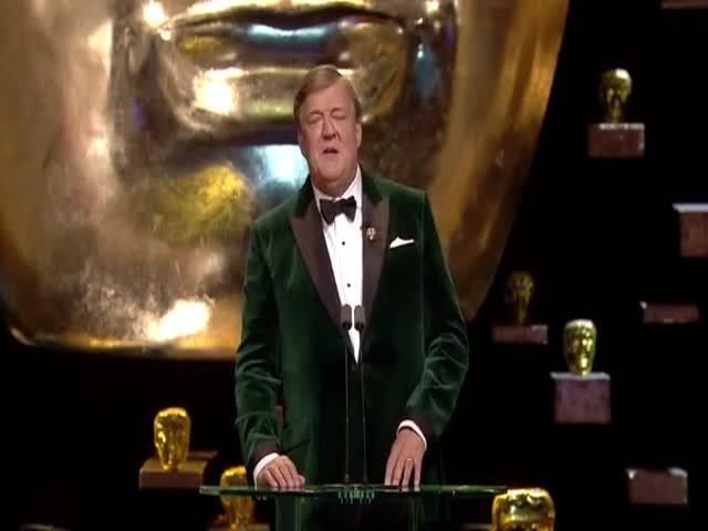 Kiss cam на вручении британской кинопремии BAFTA