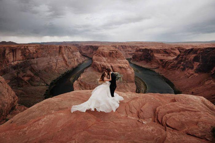 Самые красивые свадебные фото 2015 года (34 фото)