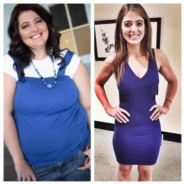 Американка похудела 60 кг и стала фитнес-тренером (11 фото)
