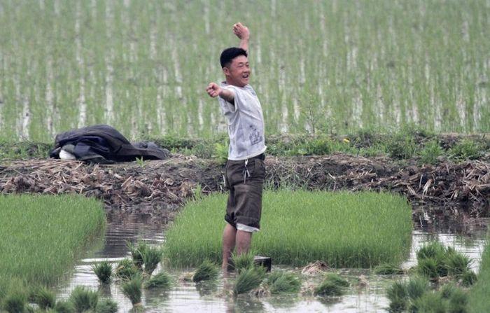 Фото повседневной жизни граждан Северной Кореи (38 фото)