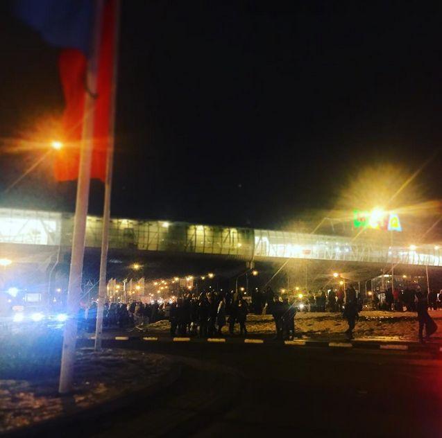 Эвакуация в Москве из-за угрозы теракта