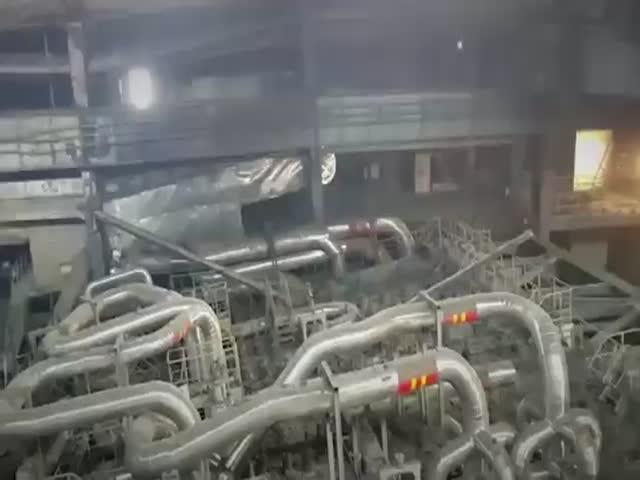 Неизвестный пожар на Березовской ГРЭС