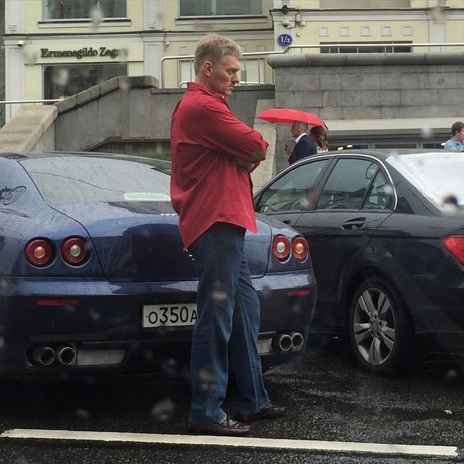 Наряд Дмитрия Пескова в нерабочее время (фото)