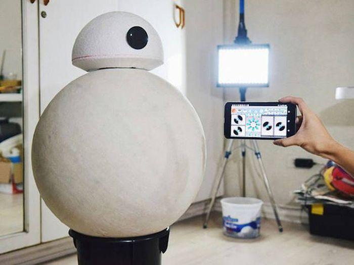 Филиппинский подросток собрал копию робота BB-8 из «Звездных войн» (17 фото)