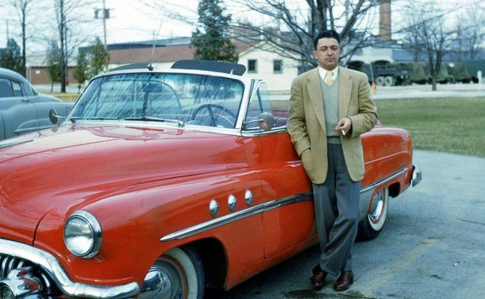 Америка 50-х годов на цветных снимках (77 фото)