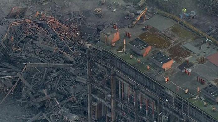 В Великобритании произошел взрыв на электростанции города Дидкот (6 фото + видео)