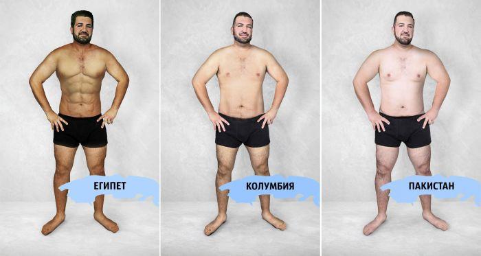 Как выглядит идеальное мужское тело в разных странах мира (16 фото)
