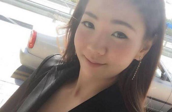 Милая и вовсе не хрупкая азиатка (8 фото)