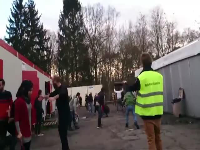 Конфликт в бельгийском лагере для беженцев