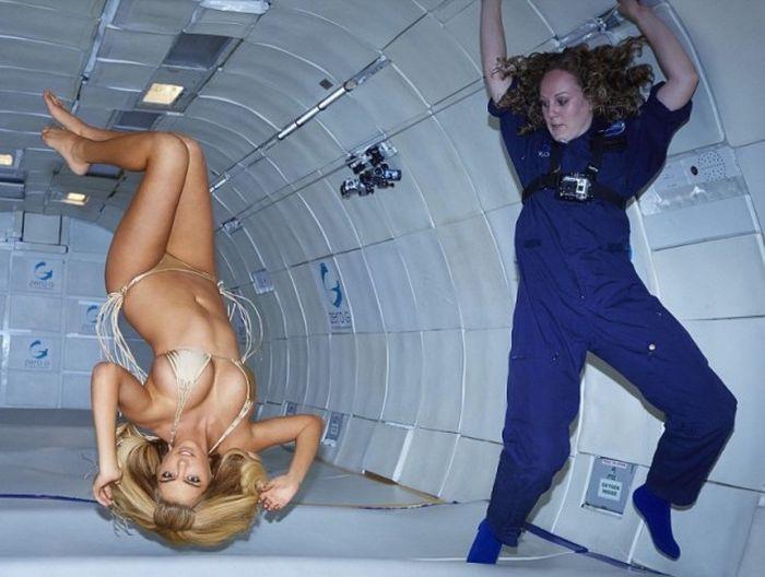 Размножение животных человека в космосе (6 фото)