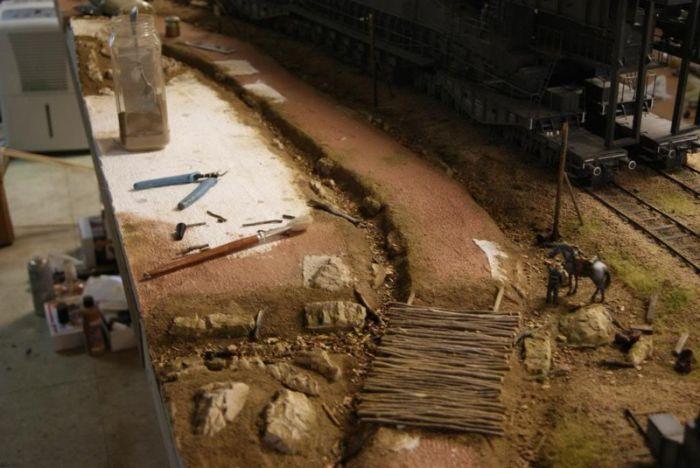 Великолепная диорама, поражающая своими объемами и детализацией (48 фото)