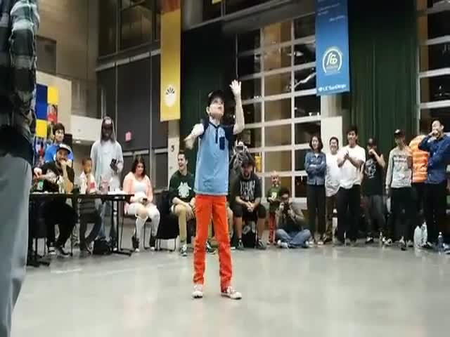 10-летний мальчик удивил публику потрясающим танцем