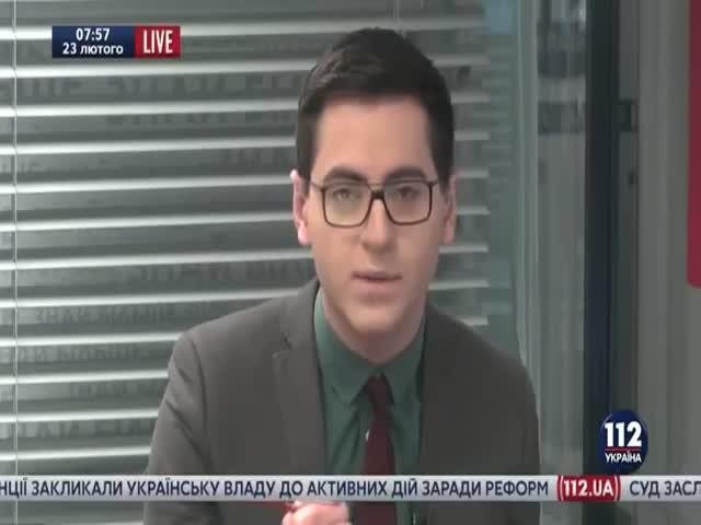 Бывший глава украинской разведки Николай Маломуж дал интервью в трусах