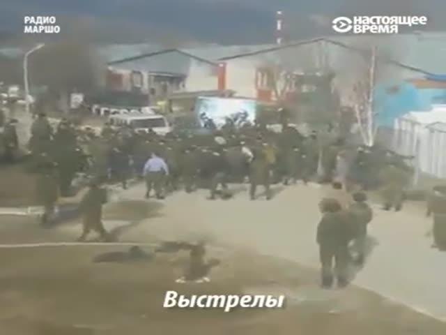 Массовая драка военнослужащих в чеченском селе Борзой