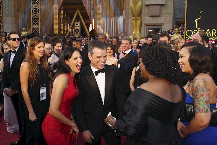 Фото с церемонии вручения премии «Оскар-2016» (28 фото)