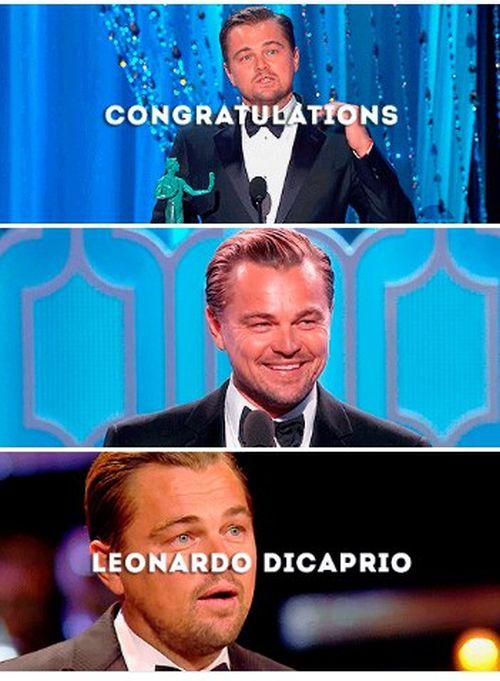 Леонардо Ди Каприо получил «Оскар»