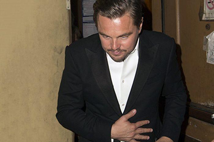 Леонардо Ди Каприо забыл «Оскар» в одном из ресторанов Лос-Анджелеса (2 фото + видео)