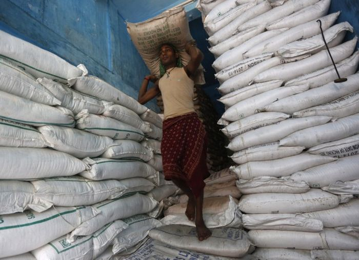 Повседневная жизнь граждан Индии (34 фото)