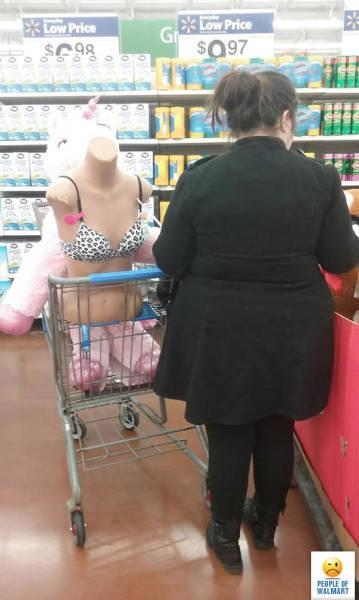 Смешные люди из супермаркетов. Часть 27 (55 фото)