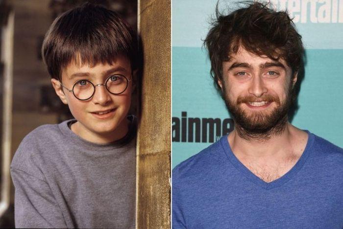 Повзрослевшие дети из фильмов о Гарри Поттере (21 фото)