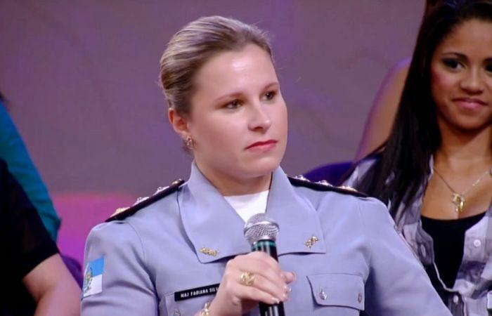 Фабиана Силва - самый симпатичный майор полиции (5 фото)