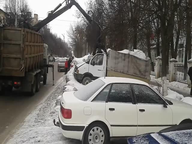 Эвакуация по-владимирски