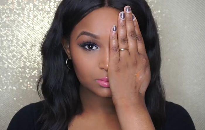Девушка с сильными ожогами лица наглядно демонстрирует силу макияжа (8 фото + видео)