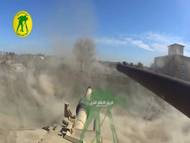 Танковый бой от первого лица
