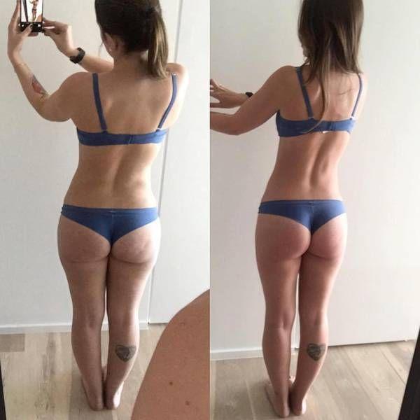 Девушки хвастаются результатами занятий фитнесом (45 фото)