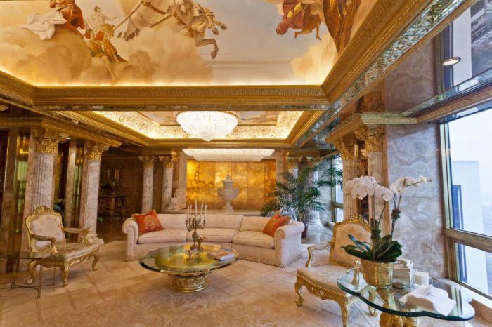 Роскошное жилище Дональда Трампа (18 фото)