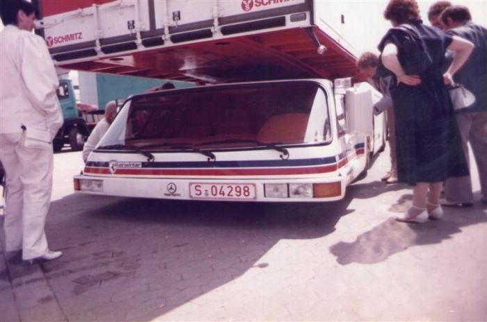 Steinwinter Supercargo - необычный грузовик, который так и остался концептом (8 фото)