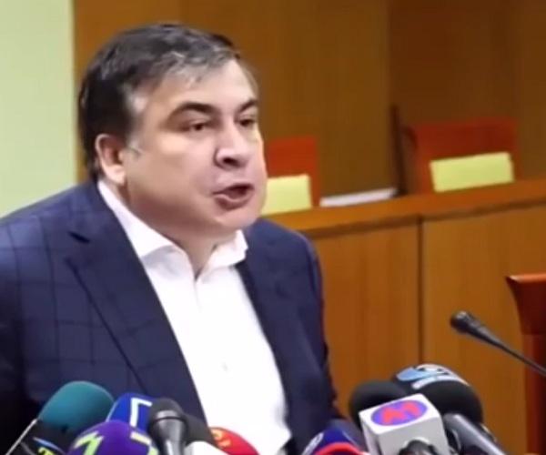 Через чур эмоциональная речь Михаила Саакашвили