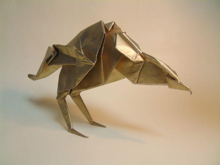 Акира Ёсидзава и его удивительные фигурки оригами (10 фото)