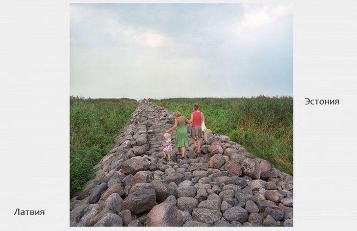 Исчезнувшие границы между странами ЕС на фото Валерио Винченцо (34 фото)