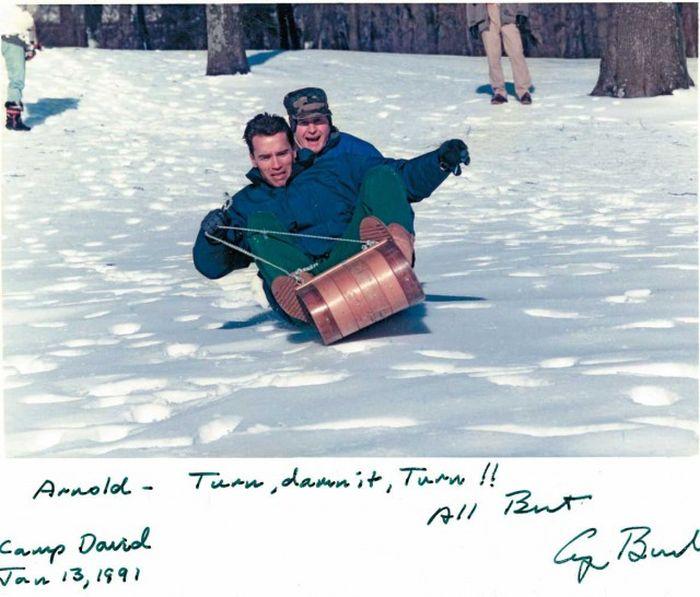 Фотографии, на которых запечатлена вся жизнь Арнольда Шварценеггера (101 фото)